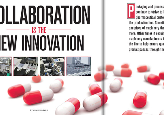 Opening spread of feature story in <i>PMT</i> magazine. I was responsible for layout from prepress to publication of entire magazine.